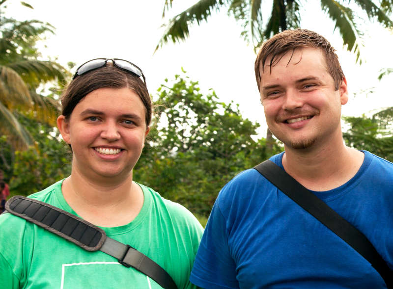 Josiah and Rachel Van Der Decker, missionaries helping the Mouk reach the Anem people