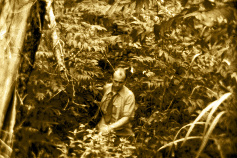 Cecil Dye in the jungles of Bolivia, where he was martyred