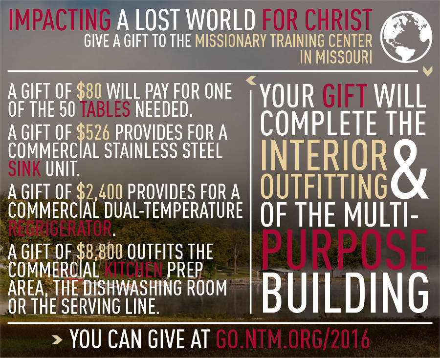 Impacting a Lost World for Christ Infographic