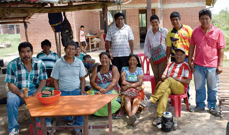 Group of Ayoré Believers