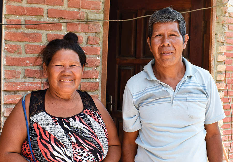 Durasei and wife, Ique