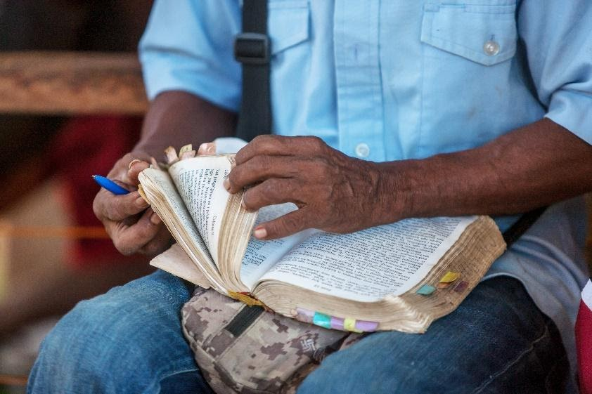 Bible Translation and Literacy—leading to literate churches