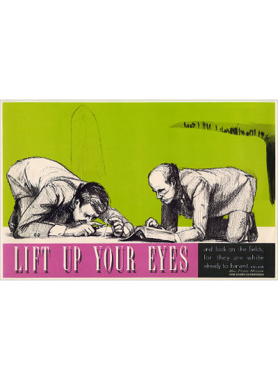 Lift Up Your Eyes - Poster