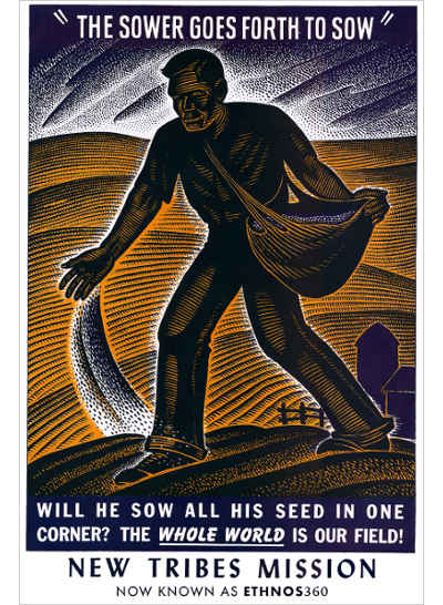 The Sower Goes Forth - Poster