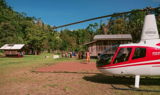 Three Helicopters for PNG