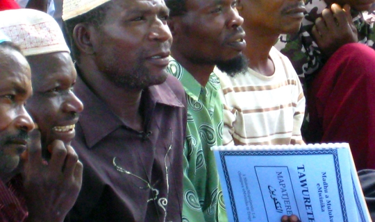 See the Mwinika Bible Translation Through to Completion